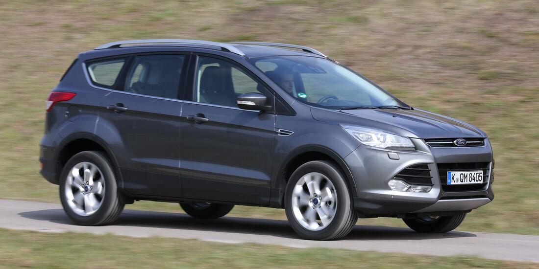 Ford Kuga 2.0 TDCi 4x4, Seitenansicht