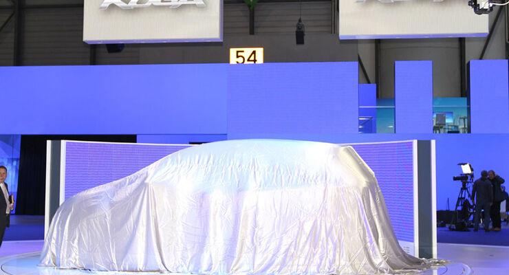 Ford Kuga verhüllt, Genf 2012