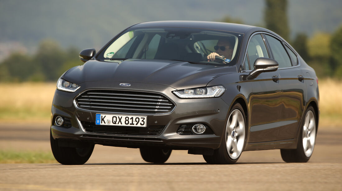 Ford Mondeo 2.0 TDCI, Frontansicht