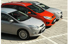 Ford Mondeo, Ford Focus Turnier, Ford Grand C-Max, Frontpartie