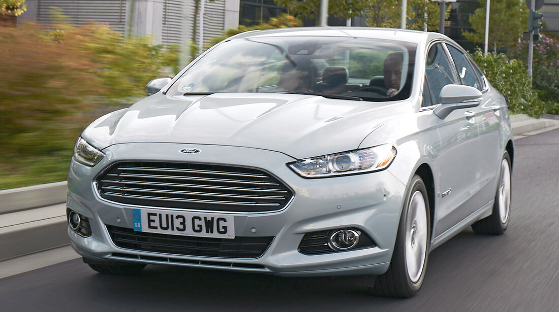 Ford Mondeo Hybrid, Frontansicht