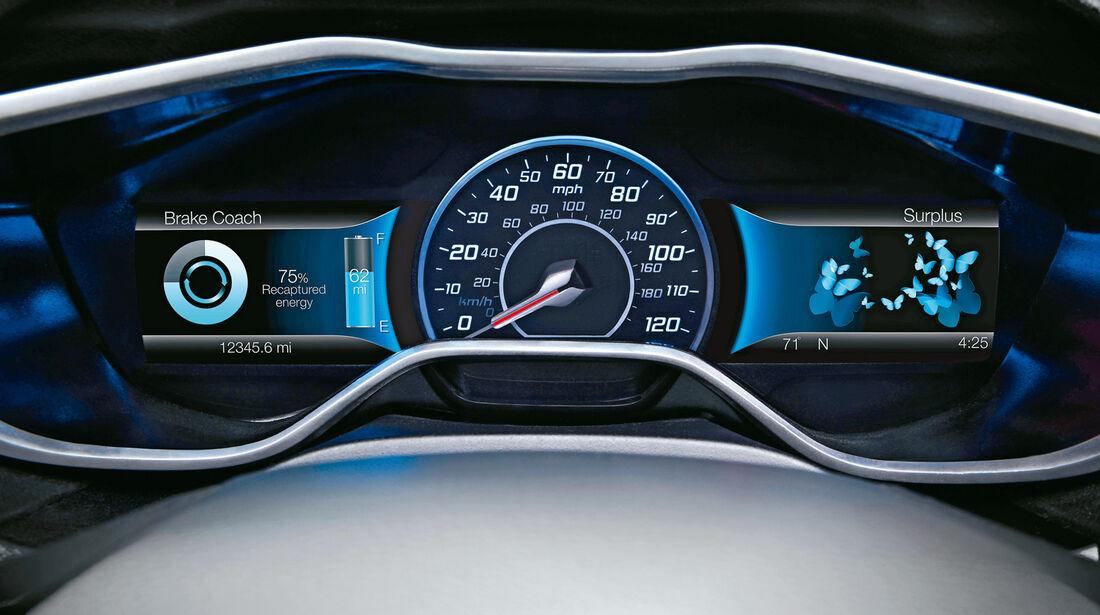 Ford Mondeo Hybrid, Rundinstrumente