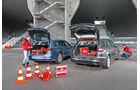 Ford Mondeo Turnier 2.0 TDCI, VW Passat Variant 2.0 TDI, Kofferraum