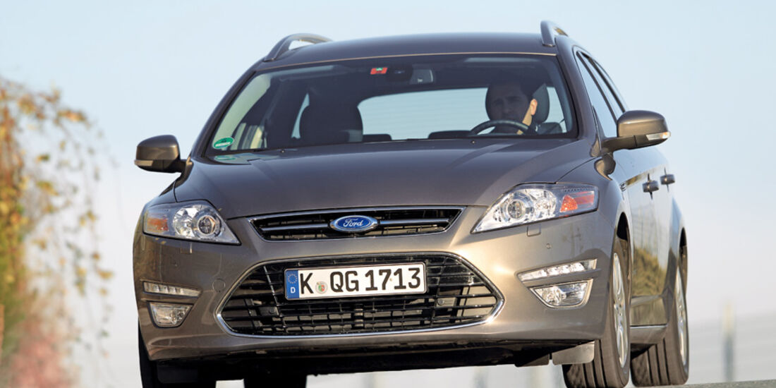 Ford Mondeo Turnier, Frontansicht