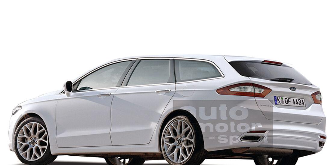 Ford Mondeo Turnier Retusche