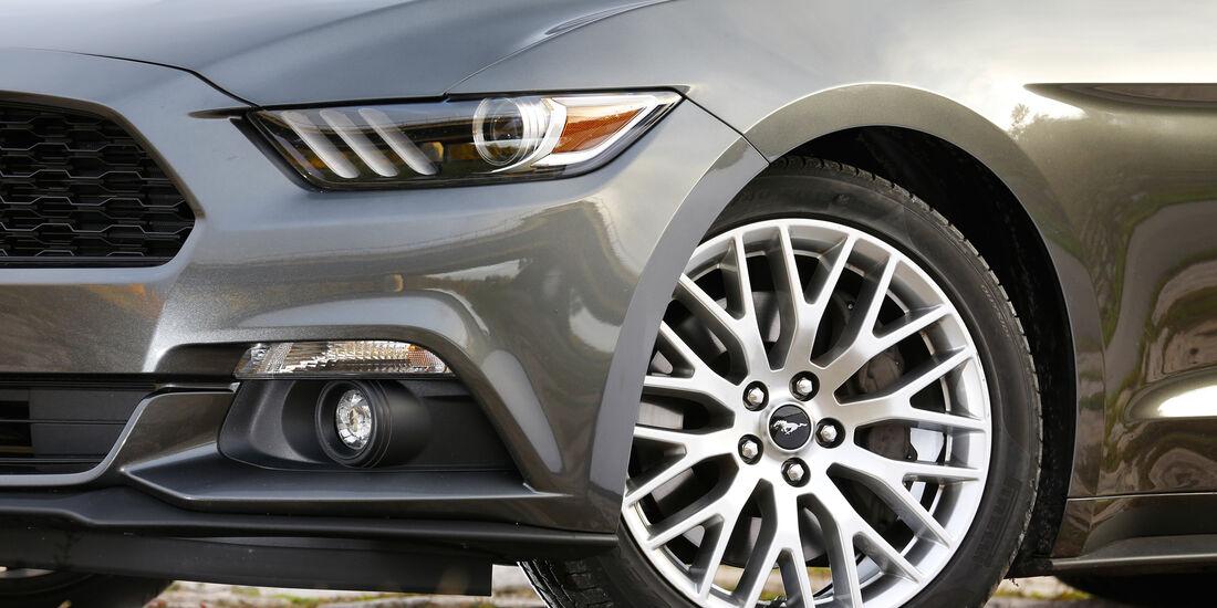 Ford Mustang 2.3 Ecoboost Fastback, Rad, Felge
