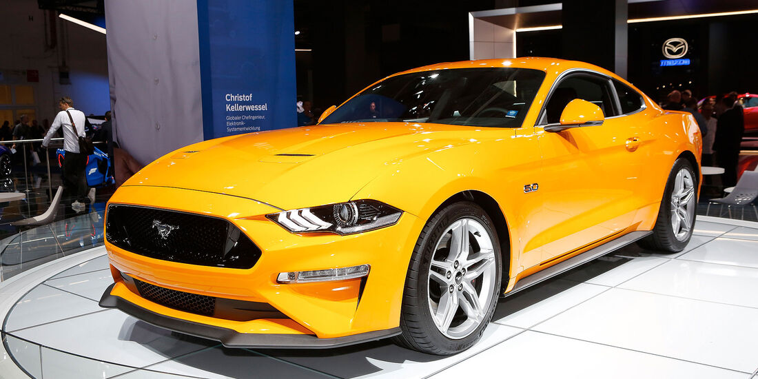 Ford Mustang 5.0 V8 GT 2018