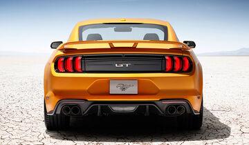 Ford Mustang Gt Facelift Im Fahrbericht 2018 Auto Motor Und Sport
