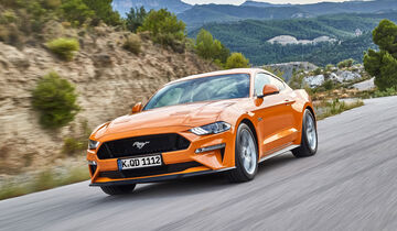 Ford Mustang - Facelift 2018 (Europa)