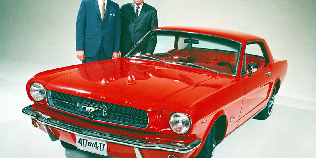 Ford Mustang Lee Iacocca, Donald Frey