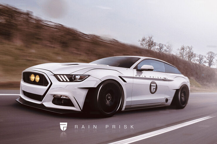 Ford Mustang Shooting Brake - Fantasie-Auto