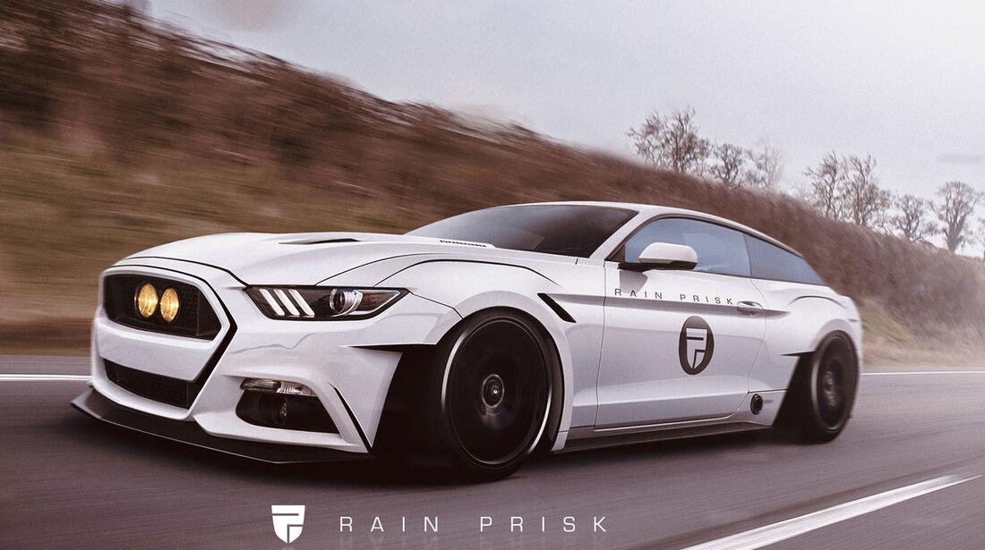 Ford Mustang Shooting Brake - Fantasie-Auto