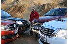 Ford Ranger, Nissan Navara, Toyota Hilux, VW Amarok, Sebastian Renz