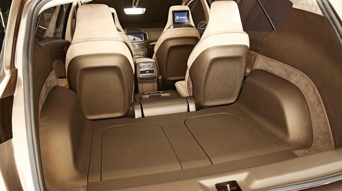 Ford S-Max, Kofferaum