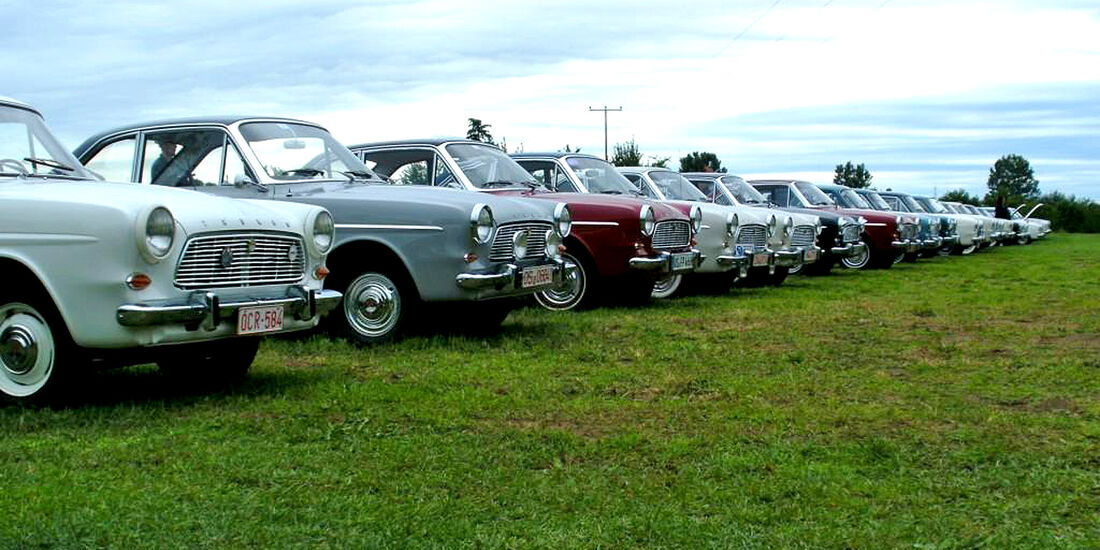 Ford Taunus 12M P4, Treffen