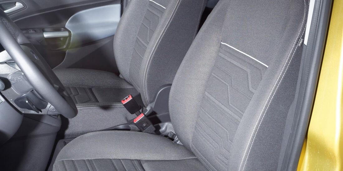 Ford Tourneo Connect, Fahrersitz