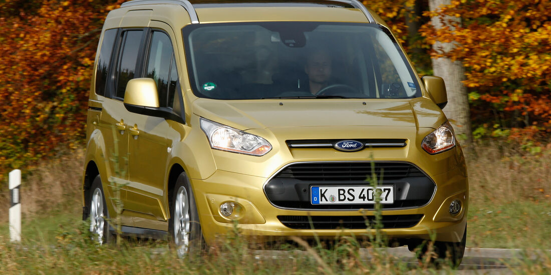 Ford Tourneo Connect, Frontansicht
