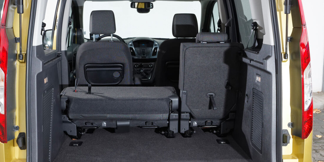 Ford Tourneo Connect, Kofferraum