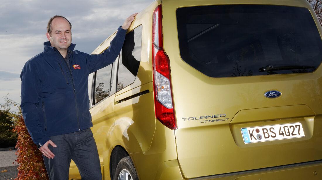 Ford Tourneo Connect, Stefan Cerchez