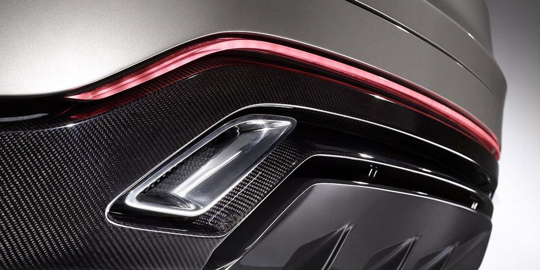 Ford Vertrek Concept, Diffusor, Auspuff