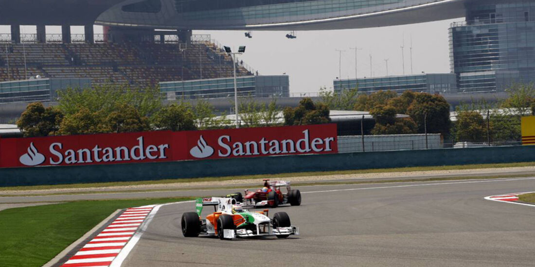 Formel 1 China Freies Training
