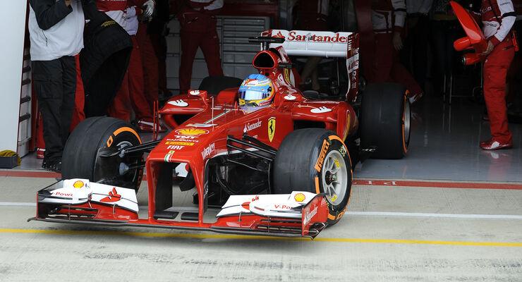 Formel 1 GP England 2013 Fernando Alonso