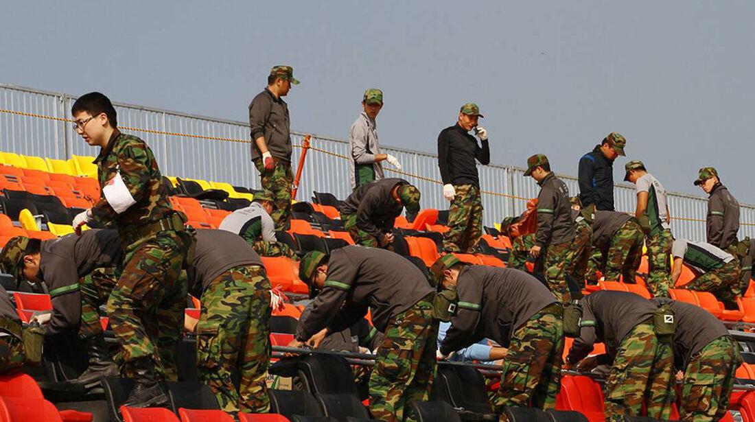 Formel 1 GP Korea 2010 Militär