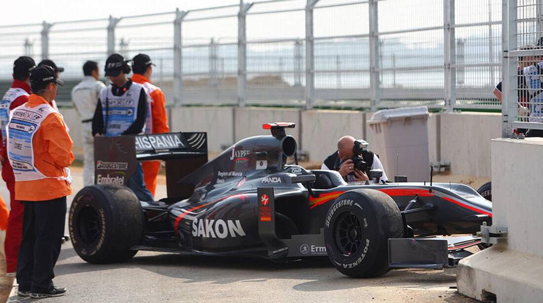 Formel 1 GP Korea 2010 Yamamoto