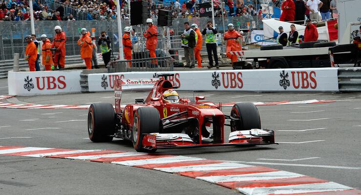 Formel 1 GP Monaco 2013 Fernando Alonso