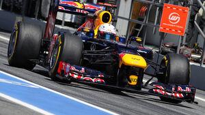 Formel 1 GP Spanien 2012 Sebastian Vettel