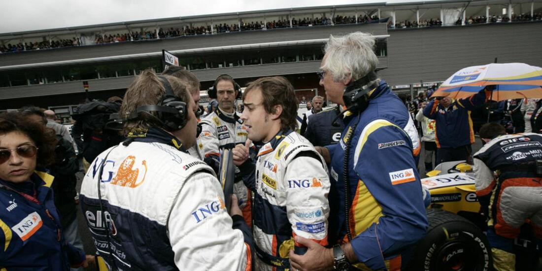 Formel 1, Grand Prix Belgien 2008, Spa-Francorchamps, 07.09.2008