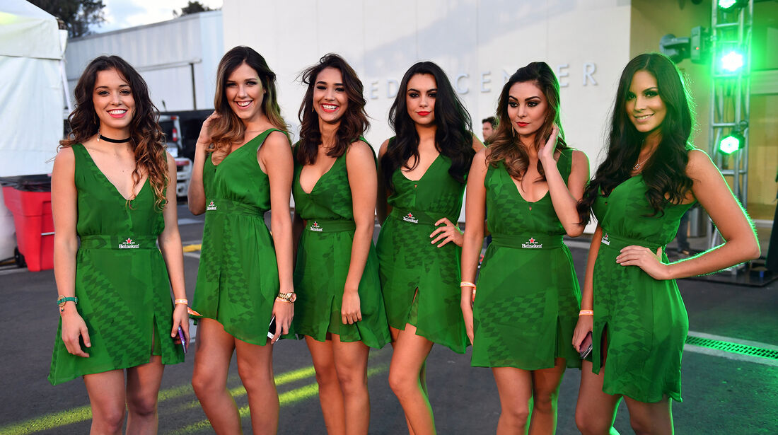 Formel 1 - Grid Girls - GP Mexiko 2016