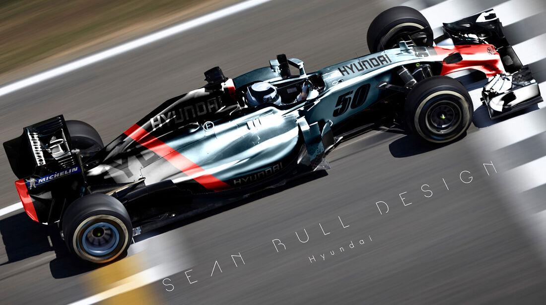 Formel 1 - Hyundai - Fantasie-Teams - Sean Bull Design