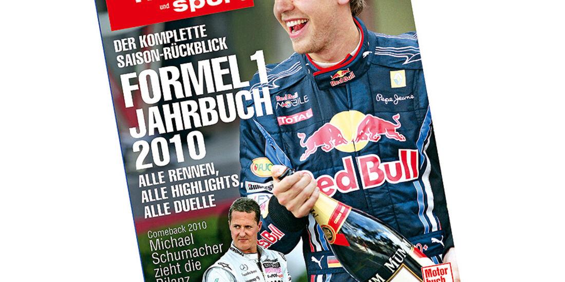 Formel 1 Jahrbuch 2010 Titel