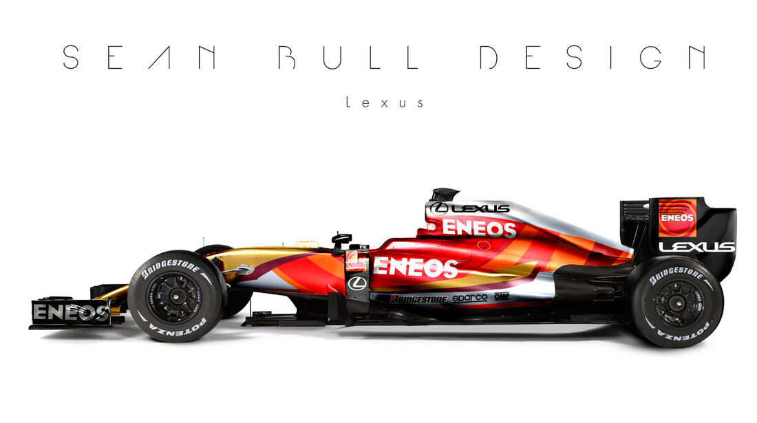 Formel 1 - Lexus - Fantasie-Teams - Sean Bull Design