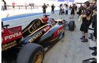 Formel 1, Lotus E22, Romain Grosjean, Bahrain, Test, Tag 1