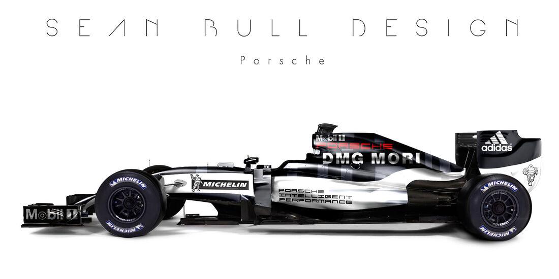 Formel 1 - Porsche - Fantasie-Teams - Sean Bull Design