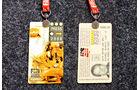 Formel 1 Presse-Akkreditierung Saison 2000