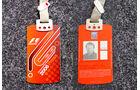 Formel 1 Presse-Akkreditierung Saison 2006