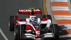 Formel 1- Rennwagen von Superaguri-Honda
