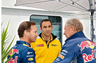 Formel 1 - Saison 2015 - Horner - Abiteboul - Marko