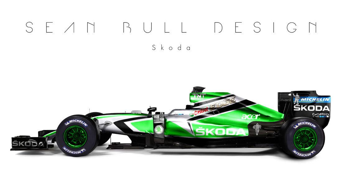 Formel 1 - Skoda - Fantasie-Teams - Sean Bull Design