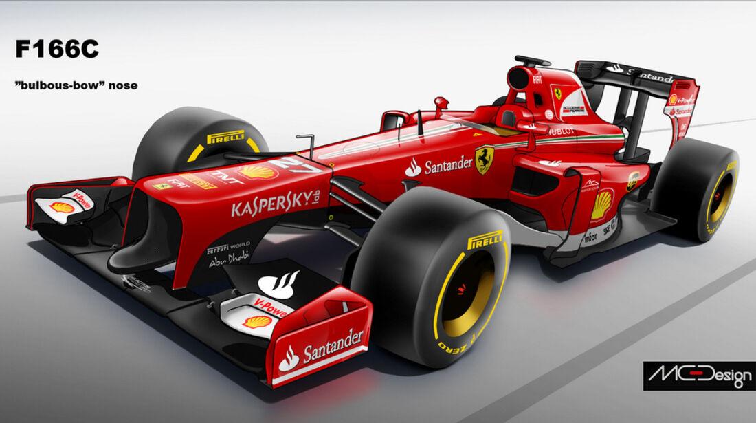 Formel 1 - Studie - Ferrari 2014