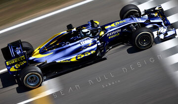 Formel 1 - Subaru - Fantasie-Teams - Sean Bull Design
