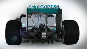 Formel 1 Technik 2014 - Mercedes AMG F1 W05 - Piola Animation