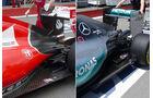Formel 1 Technik-Vergleich - Mercedes vs. Ferrari - F1 2015