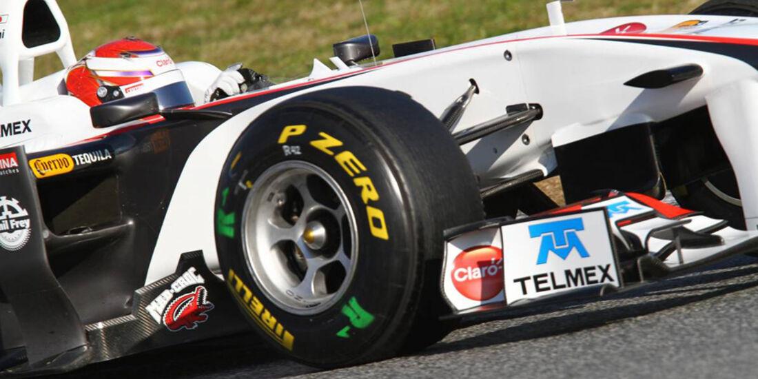 Formel 1-Test 2011 Barcelona