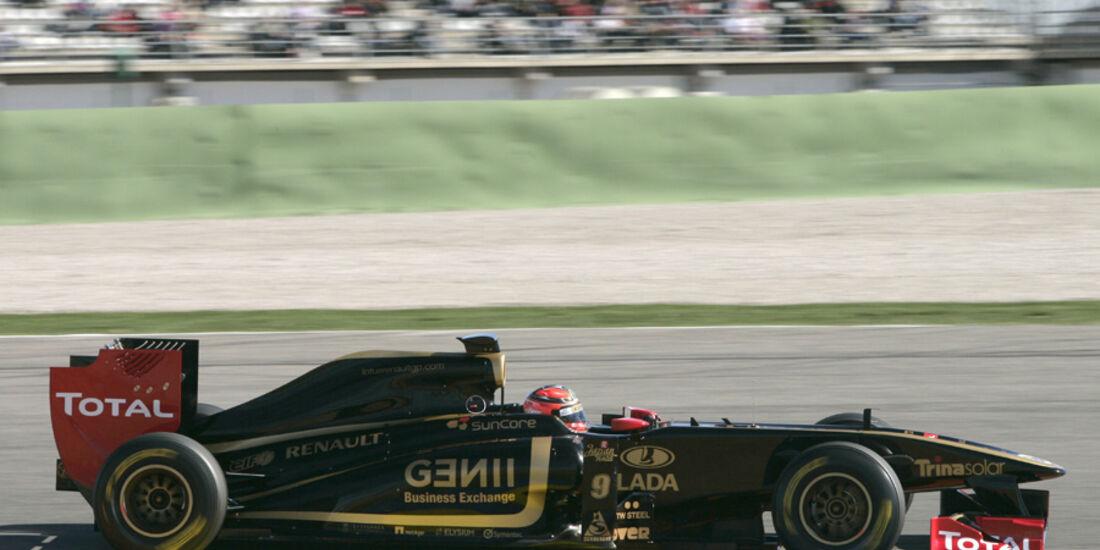 Formel 1 Test 2011 Kubica