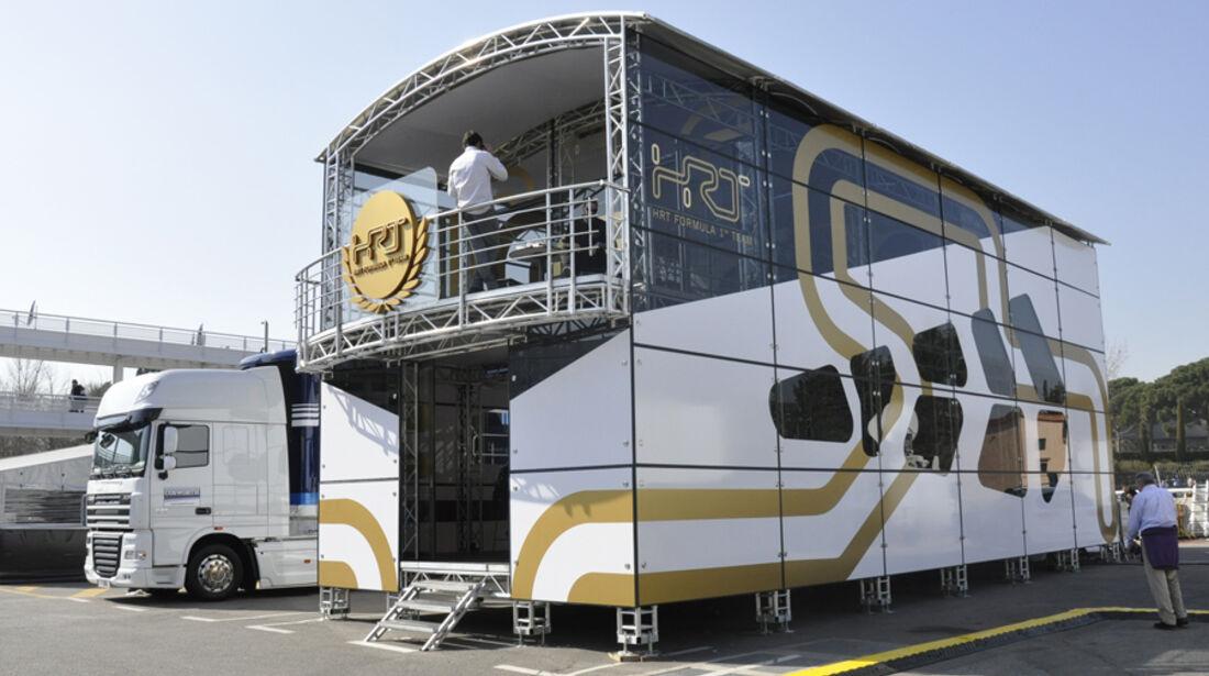 Formel 1-Test, Barcelona, 01.03.2012, HRT