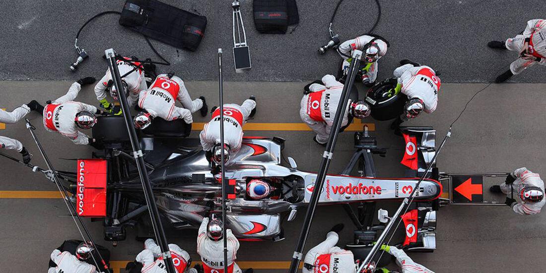 Formel 1-Test, Barcelona, 01.03.2012, Jenson Button, McLaren